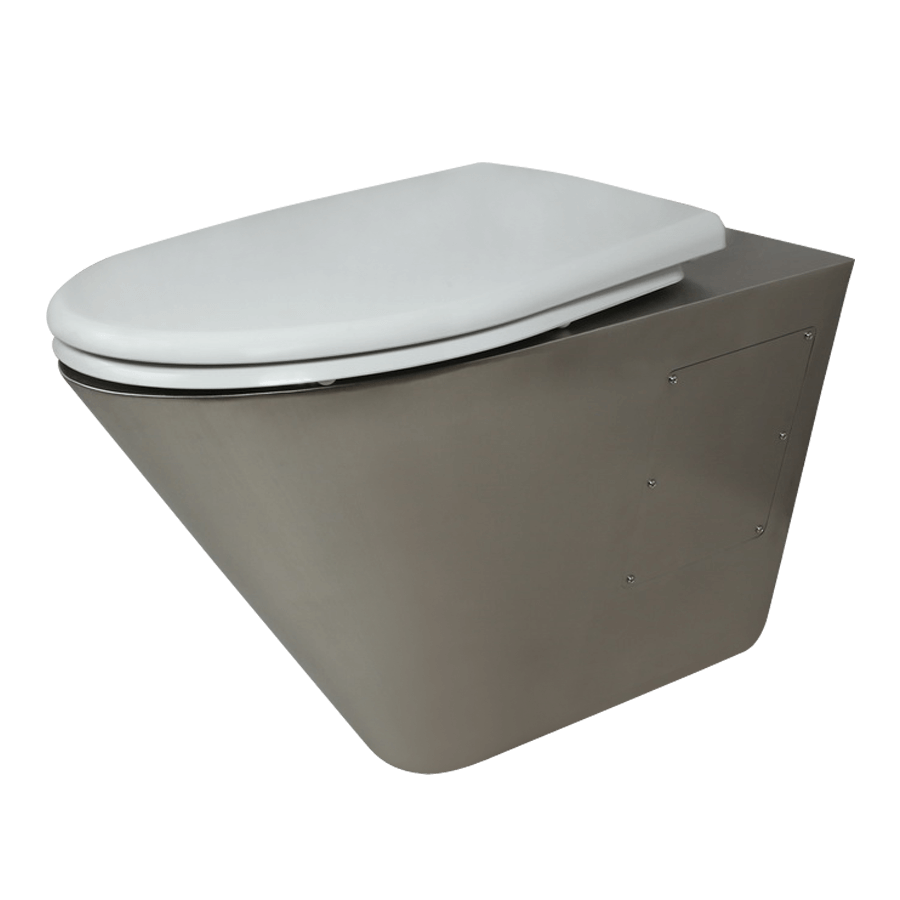 Wall-hung toilet (for installation) vandal-proof 1-003 (P)