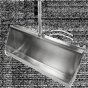 Писсуар (желобковый)-0.6 м. 2-003.1(L/R) антивандальный