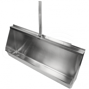 Писсуар (желобковый)-0.9 м. 2-004.1(L/R) антивандальный