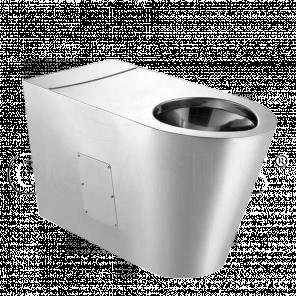 Унитаз напольный 1-011.1(P/S) антивандальный