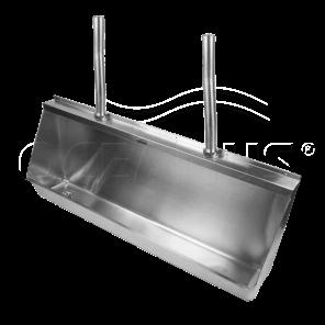Писсуар (желобковый)-2.1 м. 2-008.1(L/R) антивандальный