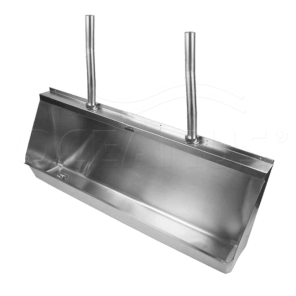Писсуар (желобковый)-2.4 м. 2-009.1(L/R) антивандальный
