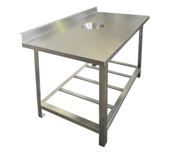Стол для сбора отходов 1050х630х860
