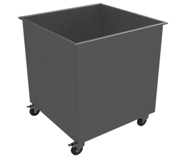 Контейнер для мусора передвижной 800х800х800