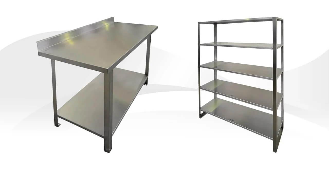 Мебель из нержавеющей стали – это традиции, доступные цены и качество!